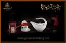 Tp. Hồ Chí Minh: Gốm Sứ Minh Long - Bộ trà 0,45L Anh Vũ chỉ bạch kim 01458004303 CL1652981P8