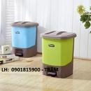 Tp. Hồ Chí Minh: Thùng Rác Nhựa, Thùng Rác Gia Đình Màu Sắc Nhã Nhặn, Thùng Rác Giá Rẻ CL1645925