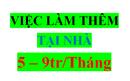 Tp. Hồ Chí Minh: Cần tuyển nhanh 10 nhân viên làm việc tại nhà 2-3h/ ngày lương 7-9tr/ tháng (uy tí CL1647565