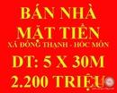 Tp. Hồ Chí Minh: Bán Nhà Mặt Tiền Xã Đông Thạnh Hóc Môn CL1647974P4