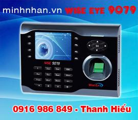 máy chấm công vân tay Wise eye 9079 lắp tại bình Dương miễn phí
