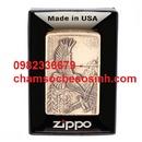 Tp. Hồ Chí Minh: Zippo lighter where eagles dare emblem 20854 – km giảm giá CL1702497
