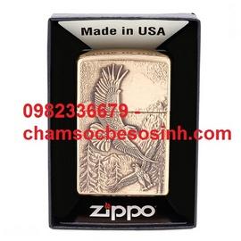 Zippo lighter where eagles dare emblem 20854 – km giảm giá