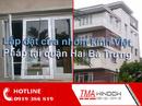 Tp. Hà Nội: Lắp đặt cửa nhôm kính Việt Pháp quận Hai Bà Trưng CL1649274