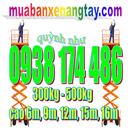Đăk Lăk: cty bán thang nâng người 500kg cao 12m, cty bán thang nâng 500kg cao 6m CL1649239