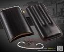 Tp. Hà Nội: Set bao da cigar, dao cắt cigar Cohiba 307B màu đen CL1649274