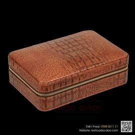 Set hộp đựng cigar, kéo cắt cigar Cohiba H519 (quà tặng sếp)