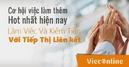 Tp. Hồ Chí Minh: Tuyển nhân viên bán thời gian 2-3h/ ngày, có máy tính, lương cao 7-9tr/ tháng CL1650049P1