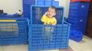 Tp. Hà Nội: Pallet nhựa Hàn Quốc 1 mét 1 x 1 mét 3 giá rẻ. LH : 0935. 633. 459 CL1650224