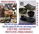 Tp. Hà Nội: Bát đĩa sứ ngọc, bát đĩa melamine, bát đĩa lẩu nướng BBQ, giao hàng toàn quốc CL1703045P11