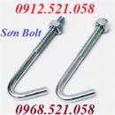 Tp. Hà Nội: Bu Lông Neo Móng thép mạ kẽm 0968. 521. 058 sản xuất Ubolt Inox 304 Hà Nội CL1651541P7