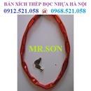 Tp. Hà Nội: A. Sơn 0913. 521. 058 bán Xích thép bọc cao su D6, D8 Hà Nội bán khoá xích CL1651625P7