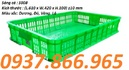 Bắc Giang: sóng nhựa trái cây giá rẻ, thùng nhựa đặc ,hộp nhựa linh kiện a5 giá cạnh tranh CL1651312P2