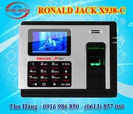 Máy chấm công Ronald Jack X938C - giá cực rẻ - lắp tận nơi 0916986850 Hằng