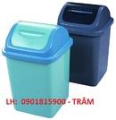 Tp. Hồ Chí Minh: Thùng Rác Nhựa Công Nghiệp, Thùng Rác 240 Lít Có Bánh Xe Đẩy, Thùng Bập Bênh. CL1647197