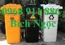 Tp. Hồ Chí Minh: Thùng rác y tế màu vàng, thùng rá y tế màu đen, thùng rác y tế màu trắng CL1651432