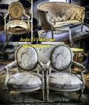 Tp. Hồ Chí Minh: Bọc ghế sofa cũ cổ điển - nệm ghế salon cổ điển quận Bình Thạnh CL1651812