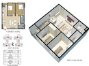 Tp. Hà Nội: Bán gấp căn hộ chung cư Ecohome 2 diện tích 68. 5m2 , giá 15. 7tr/ m2, lh096911493 CL1654737P4