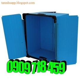 Sản xuất thùng nhựa pp, thùng nhựa pp danpla, gia công thùng nhựa pp danpla, thù