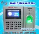 Tp. Hồ Chí Minh: Máy chấm công Ronald Jack X628 Plus - lắp đặt toàn quốc giá rẻ 0916986850 CL1652805