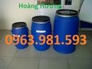 Tp. Hà Nội: Thùng phuy nhựa, thùng phuy sắt, thùng phuy có nắp loại 220l, 100l CL1653510P3