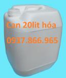 Tp. Hà Nội: Chuyên can nhựa 20lit, can nhựa cũ 20lit màu xanh giá rẻ CL1653425
