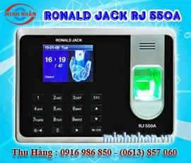 Máy chấm công Ronald Jack RJ-550A - công nghệ mới 2016 giá ưu đãi