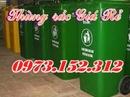Tp. Hà Nội: Thùng rác công cộng, thùng rác nhựa HDPE, 120, 240 lít giá rẻ CL1653794