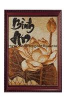 Tp. Hồ Chí Minh: Tranh gạo thư pháp, tranh gạo phong cảnh uy tín , chất lượng tại TPHCM CL1666888