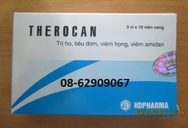 THEROCAN- Dùng chữa viêm họng, viêm Amidan, giảm ho, tiêu đờm