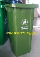 Tp. Hồ Chí Minh: Thùng rác nhựa 120L - Thùng rác công cộng 120L - Thùng rác giá rẻ CL1656844P10