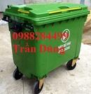 An Giang: Thùng rác nhựa, xe đẩy rác, thùng rác 660l CL1656844P10