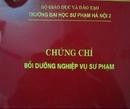 Tp. Hà Nội: Tuyển sinh lớp bồi dưỡng Nghiệp vụ sư phạm, quản lý mầm non 0981116315 CL1697685