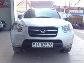 Hyundai Santa fe 2008 4WD AT , 555 triệu