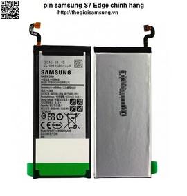 Thay sửa pin Samsung Galaxy S7 Edge chính hãng, zin, đảm bảo chất lượng