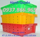 Thái Bình: hộp nhựa đặc b9, kệ dụng cụ 718, kệ nhựa linh kiện a5, a8, a9 CL1702099