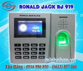Máy chấm công Ronald Jack RJ-919 - lắp giá rẻ - công nghệ mới 100%