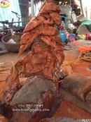 Tp. Hồ Chí Minh: Tượng Phật Di Lặc bằng gỗ CL1660722