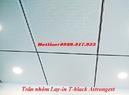 Tp. Hà Nội: Đơn giá trần nhôm Lay in T black Luxalon, Trần nhôm Astrongest CL1658764