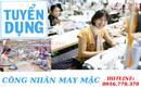 Bình Dương: Tuyển gấp công nhân may tại Thuận An Bình Dương luong cao hỗ trợ ăn ở. .. CL1698830