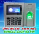 Tp. Hồ Chí Minh: máy chấm công Ronald jack RJ-919, RJ-919 có thẻ, mắt đọc chống trầy, giá tốt CL1659718