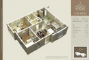 Tp. Hà Nội: Chính chủ bán căn E1( 902) Căn góc tòa A chung cư D'Le Pont D'or 36 Hoàng Cầu. CL1660023P1