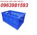 Tp. Hà Nội: sóng nhựa, sóng nhựa công nghiệp, rổ nhựa giá rẻ CL1666680P7