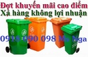 Tp. Hồ Chí Minh: thùng rác 120 lít, thùng rác 240 lít, thùng rác, thùng rác nhựa, thung rac 120L CL1660297