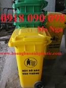 Tp. Hồ Chí Minh: bán thùng rác y tế 15 lít, thùng đựng rác y tế , xe rác 660 lít, xe rác công cộn CL1660326