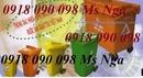 Tp. Hồ Chí Minh: bán thùng rác y tế, thùng chứa rác y tế, xe thu gom rác , xe rác 660 lít giá rẻ CL1660326