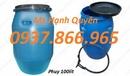 Ninh Bình: thùng phuy các loại giá rẻ, thùng phuy sát 220lit, thùng phuy nhựa 160l CL1669638P16