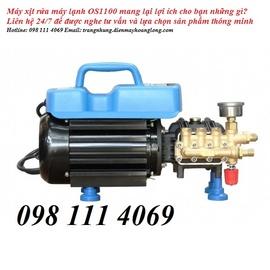 máy 0s1100 rửa xe tại nhà