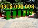Tp. Hồ Chí Minh: chuyên bán thùng đựng rác nhựa composite, thùng chứa rác hình chim cánh cụt CL1661064