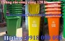 Tp. Hồ Chí Minh: bán thùng rác composite, thùng rác y tế, thùng rác nhựa 120 lít, thùng rác chim c CL1661064